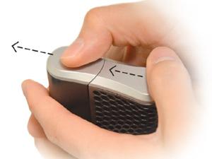 step 1 slide-battery-cover